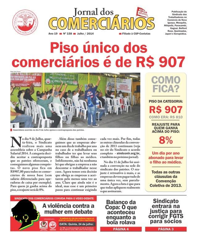 Jornal dos Comerciários Julho 2014