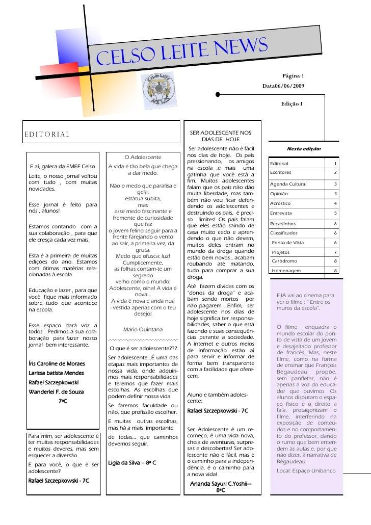 Jornal 7 c   1ª edição 2009