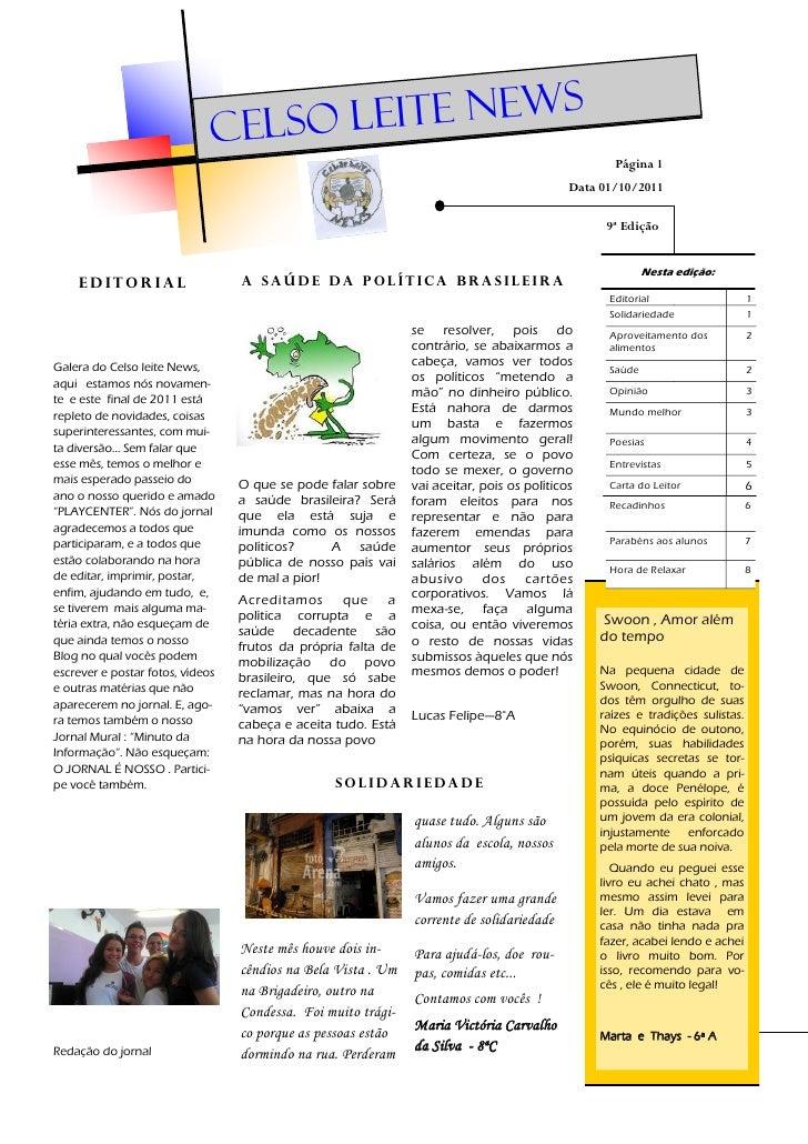 Celso L eite News                                                                                                   Página...
