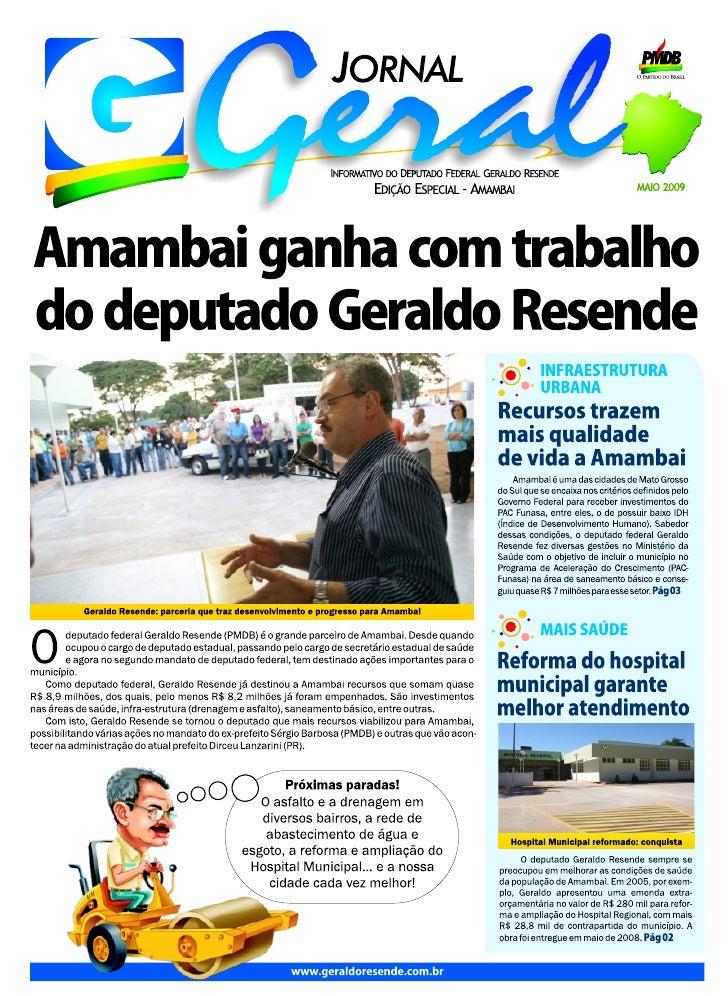 Jornal amambai em curvas