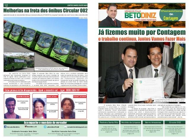 VEREADOR PCdoB #PrestandoContas  em Contagem  Já fizemos muito por Contagem  o trabalho continua, Juntos Vamos Fazer Mais ...
