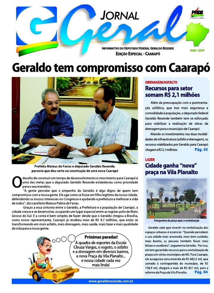 Jornal Geral - Caarapó