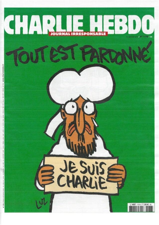 Jornal Charlie Hebdo n.º 1178!