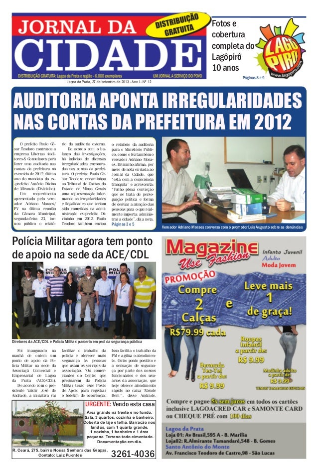Jornal da Cidade - 27 de setembro de 2013  Fotos e cobertura completa do Lagôpirô 10 anos Lagoa da Prata, 27 de setembro d...