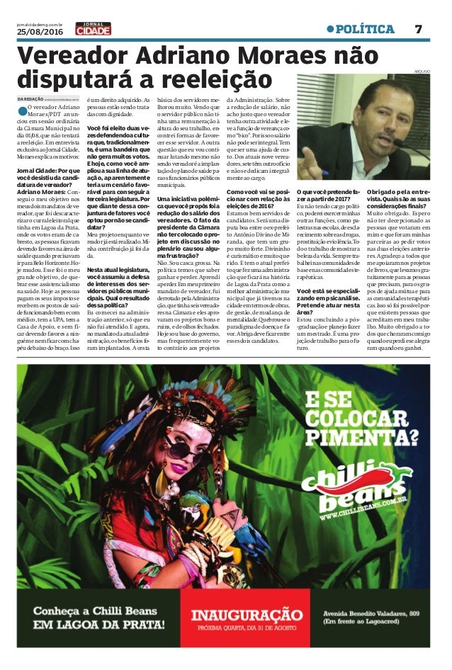 Jornal Cidade - Lagoa da Prata - Nº 82 - 25 08 2016 53024f45ff