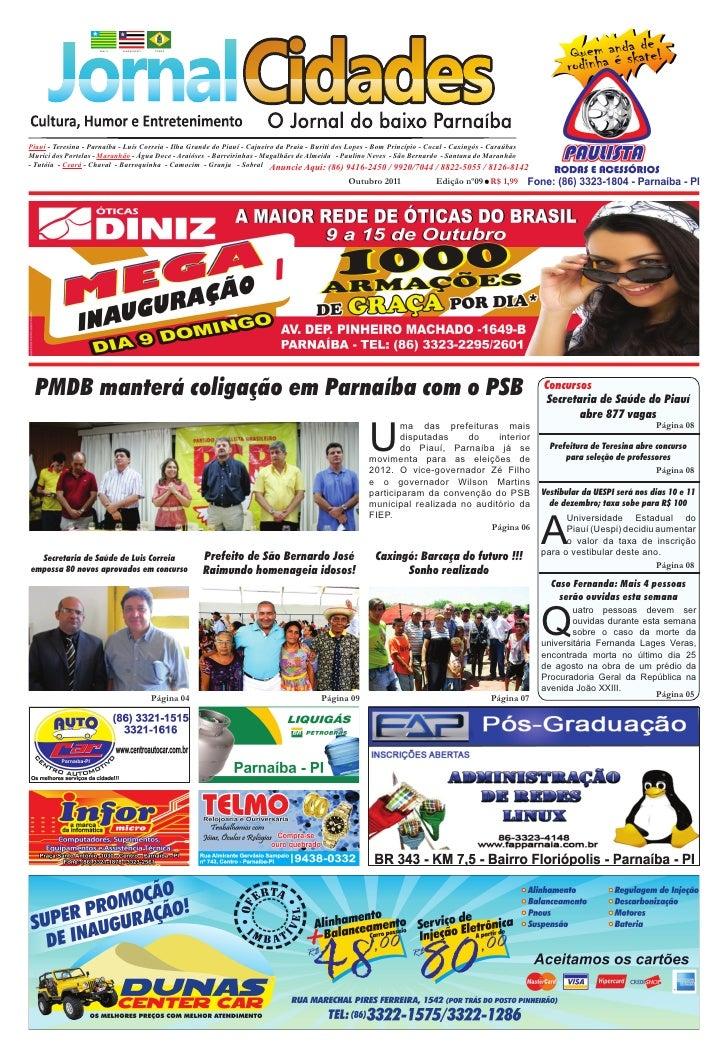 Piauí - Teresina - Parnaíba - Luís Correia - Ilha Grande do Piauí - Cajueiro da Praia - Buriti dos Lopes - Bom Princípio -...
