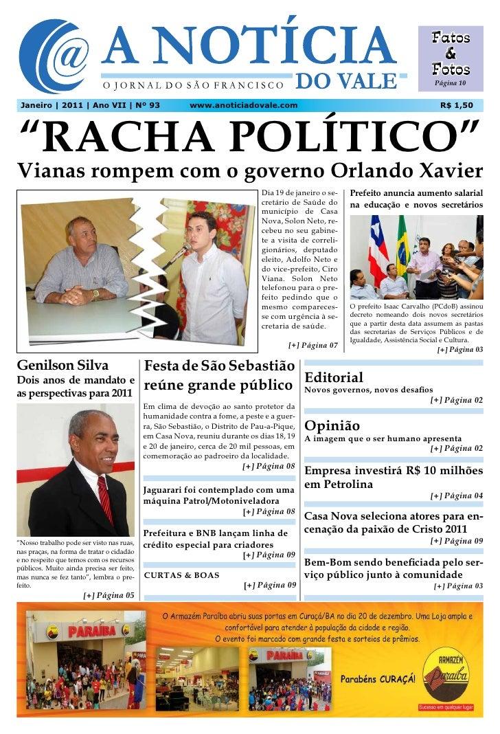 Página 10 Janeiro | 2011 | Ano VII | Nº 93                       www.anoticiadovale.com                                   ...