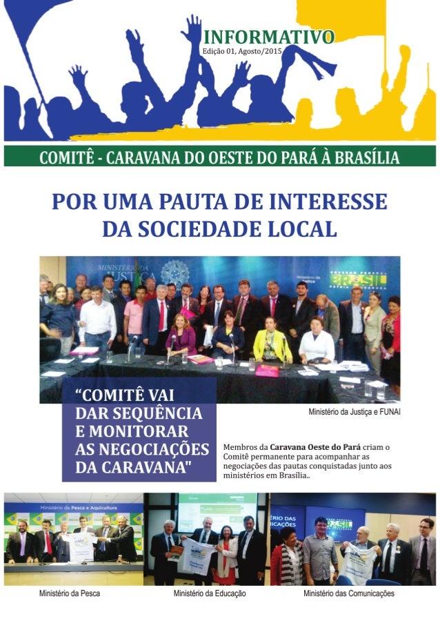 Jornal da caravana 2015