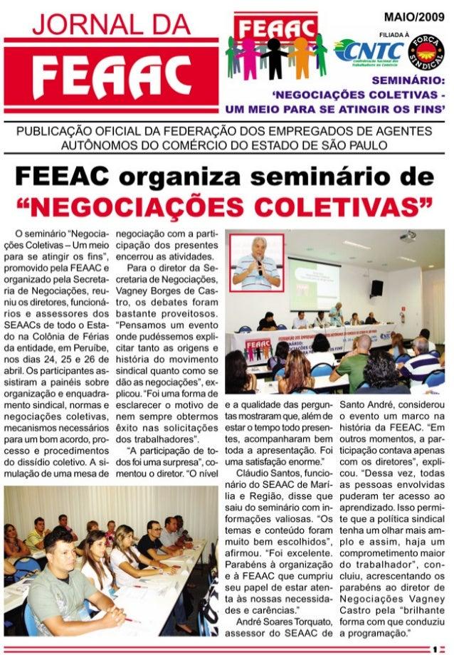Jornal da feaac 052009