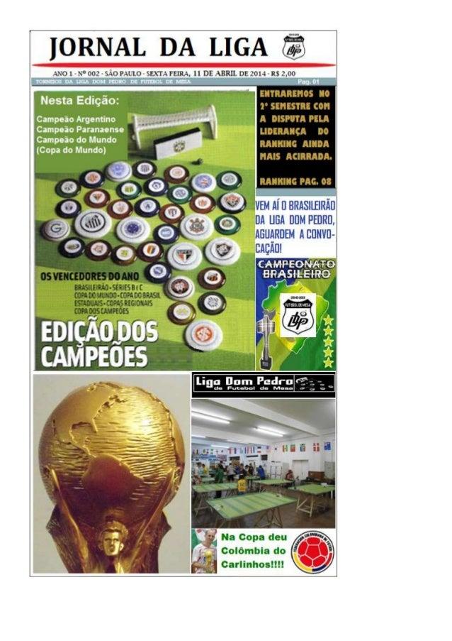 Jornal Liga D. Pedro Edição 4