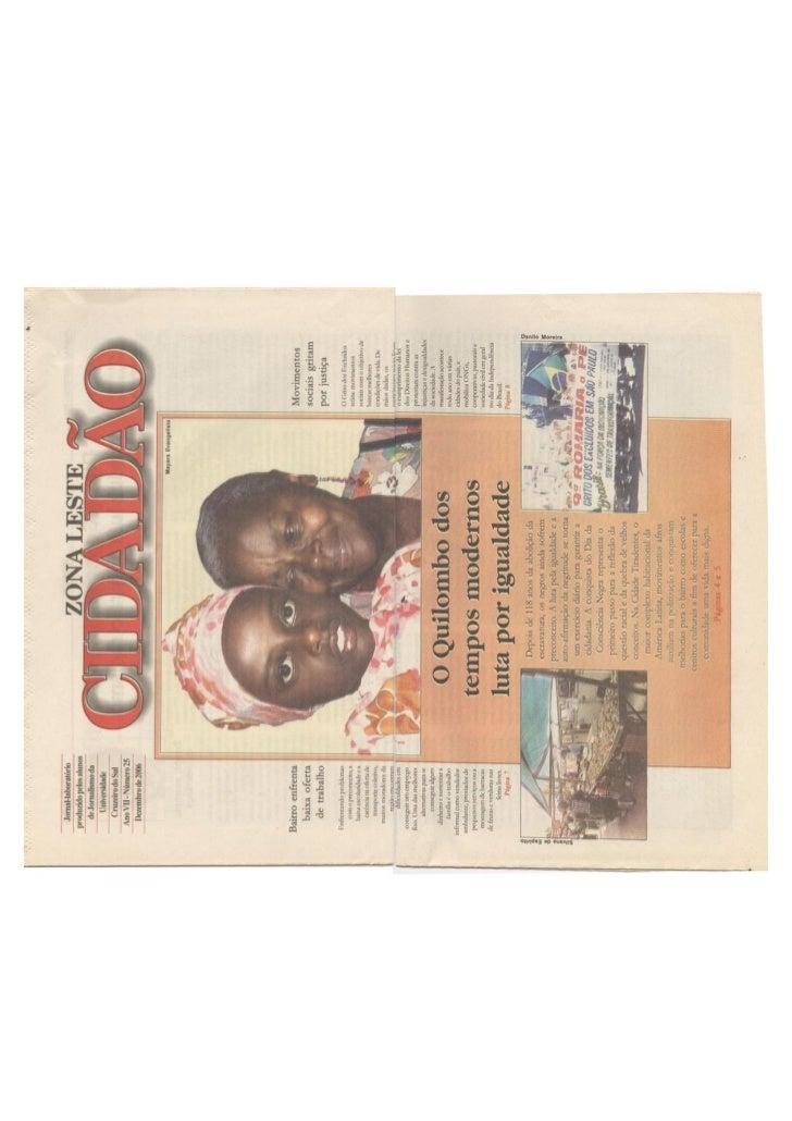 Jornal dezembro de 2006   número 25