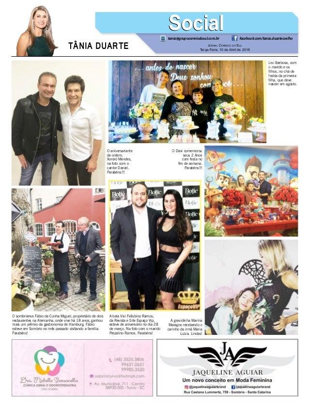 85dabe8e325 ... 9. TÂNIA DUARTE Jornal Correio ...