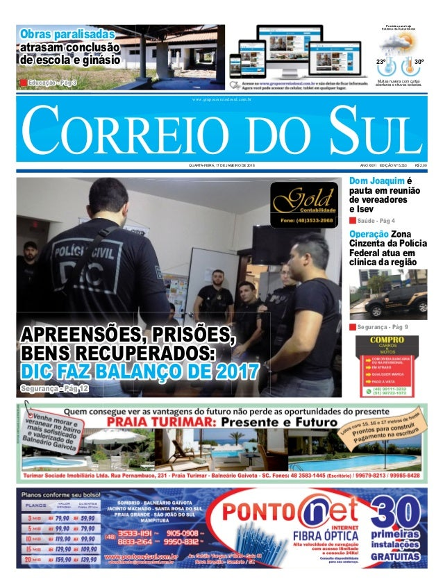 Operação Zona Cinzenta da Polícia Federal atua em clínica da região Dom Joaquim é pauta em reunião de vereadores e Isev Ob...