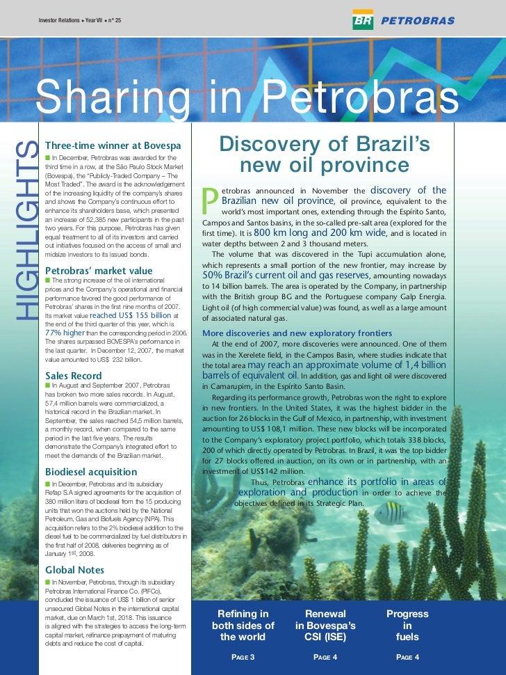 Investor Relations • Year VII • nº 25             Petrobras em Ações       Sharing in Petrobras                           ...
