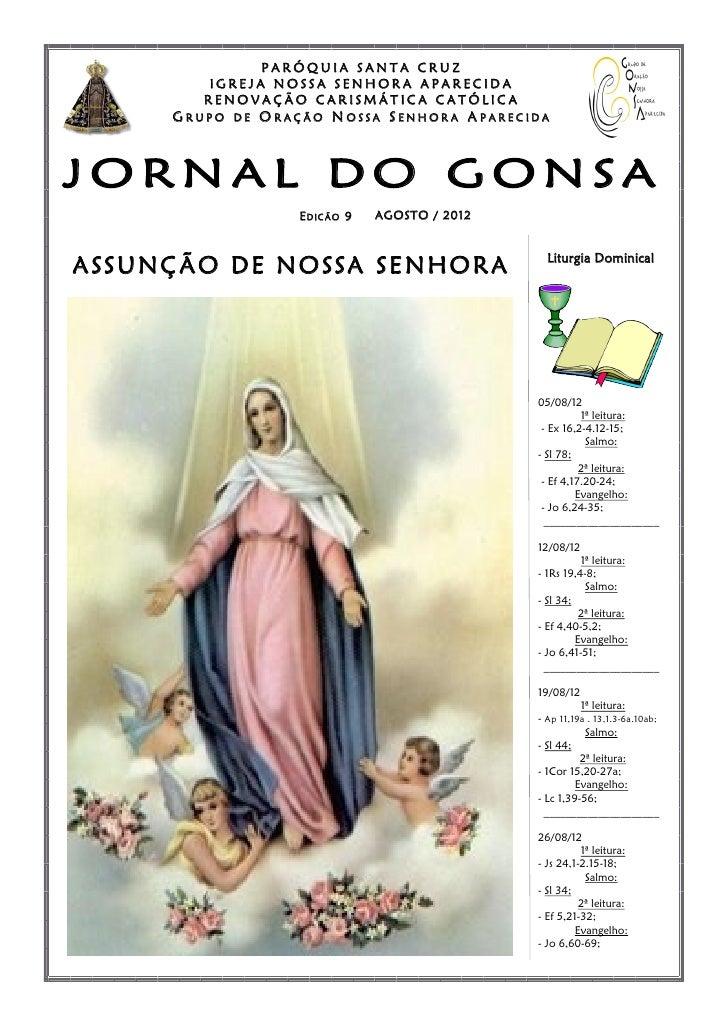 PARÓQUIA SANTA CRUZ             IGREJA NOSSA SENHORA APARECIDA            RENOVAÇÃO CARISMÁTICA CATÓLICA         GRUPO   D...