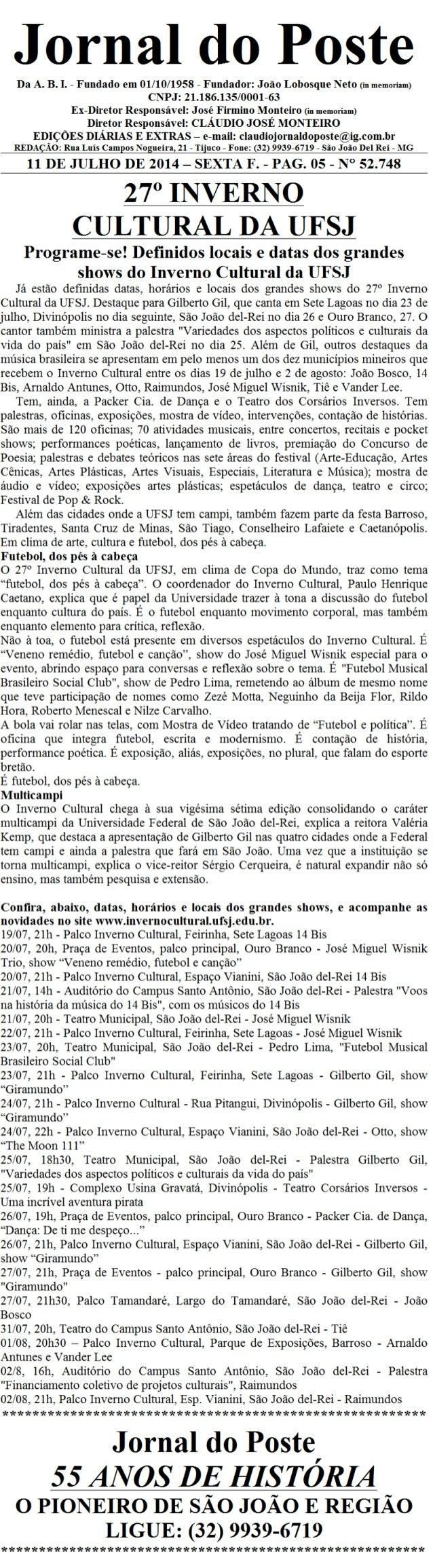Jornal do poste 44 b 4