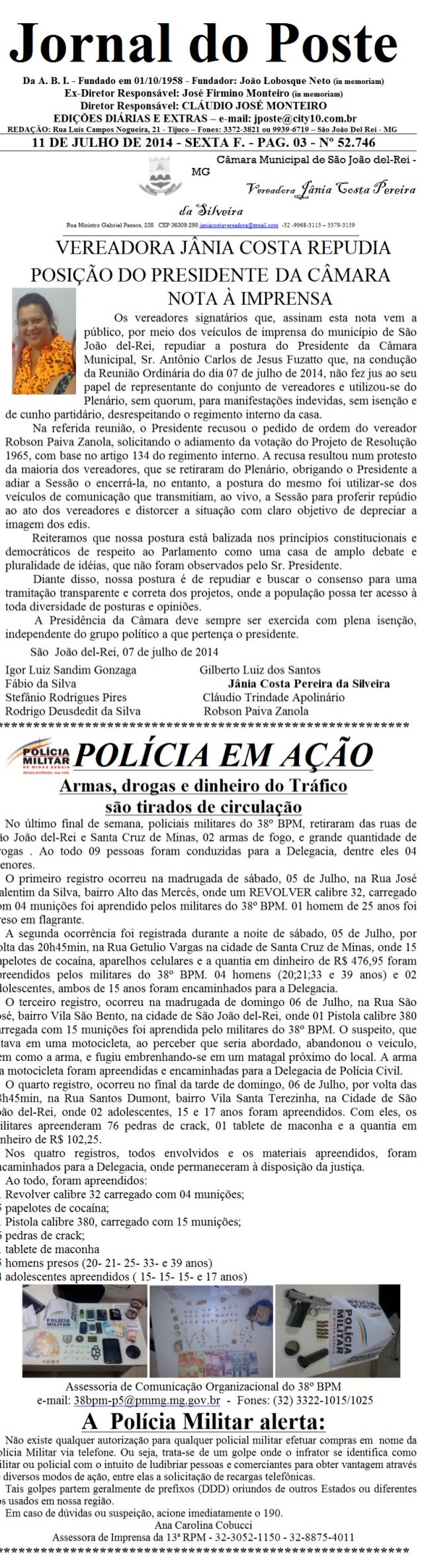Jornal do poste 55 b 5