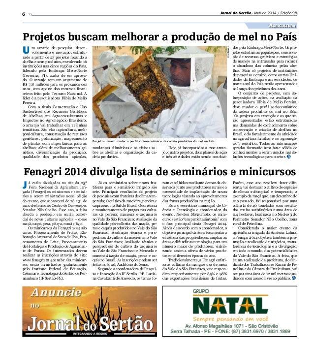 Jornal do Sertao 98 Abril 2014