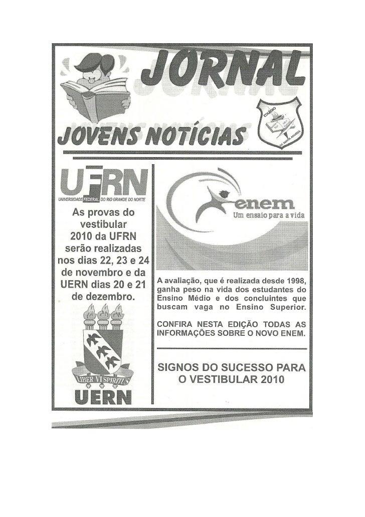Jornal edição 2009