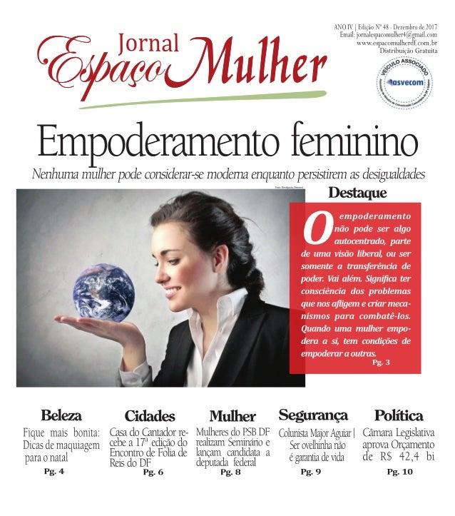 Jornal espaço mulher  dezembro 2017 - nº 48 (1)