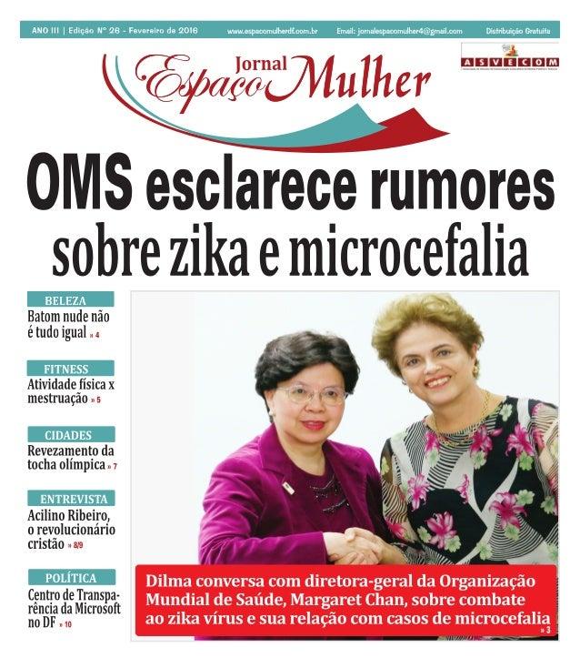 Jornal Espaço Mulher - Fevereiro 2016