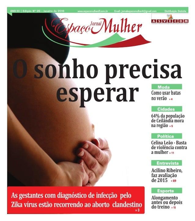 Jornal Espaço Mulher - Janeiro 2016