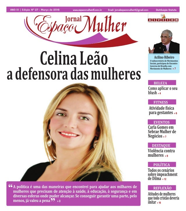Jornal Espaço Mulher - Março 2016