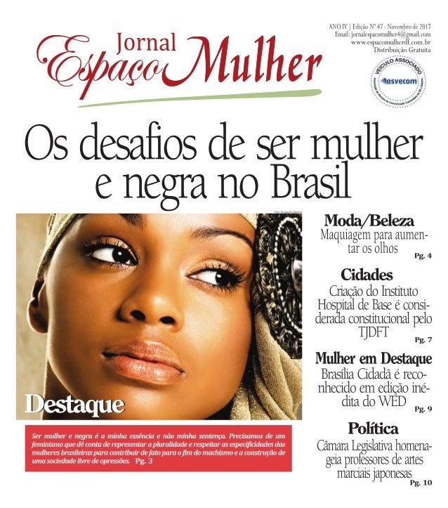 Jornal espaço mulher  novembro 2017 - nº 47 1 - final