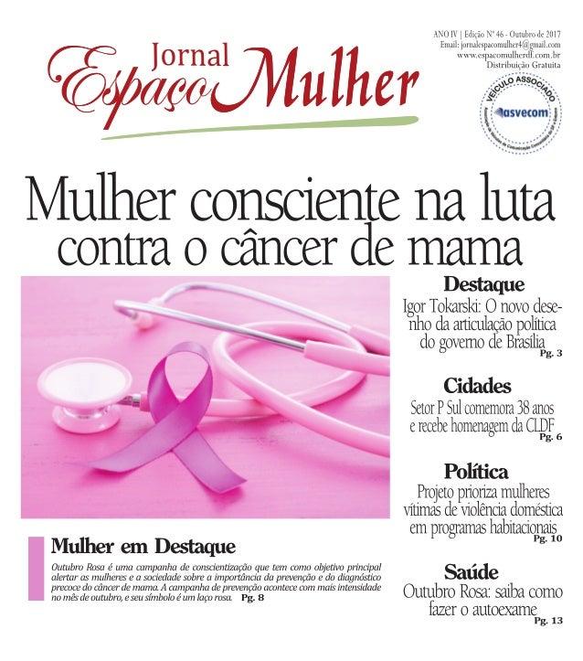 Jornal espaço mulher   outubro 2017 - nº 46