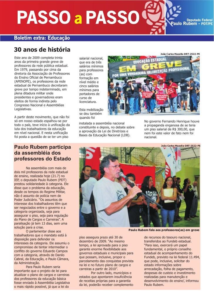João Carlos Mazella-DRT-2522-PE                         João Carlos Mazella-DRT-2522-PE     Paulo Rubem fala aos professor...