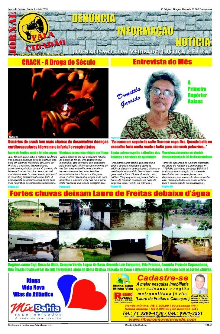 Jornal Fala Cidadão 2ª Edição