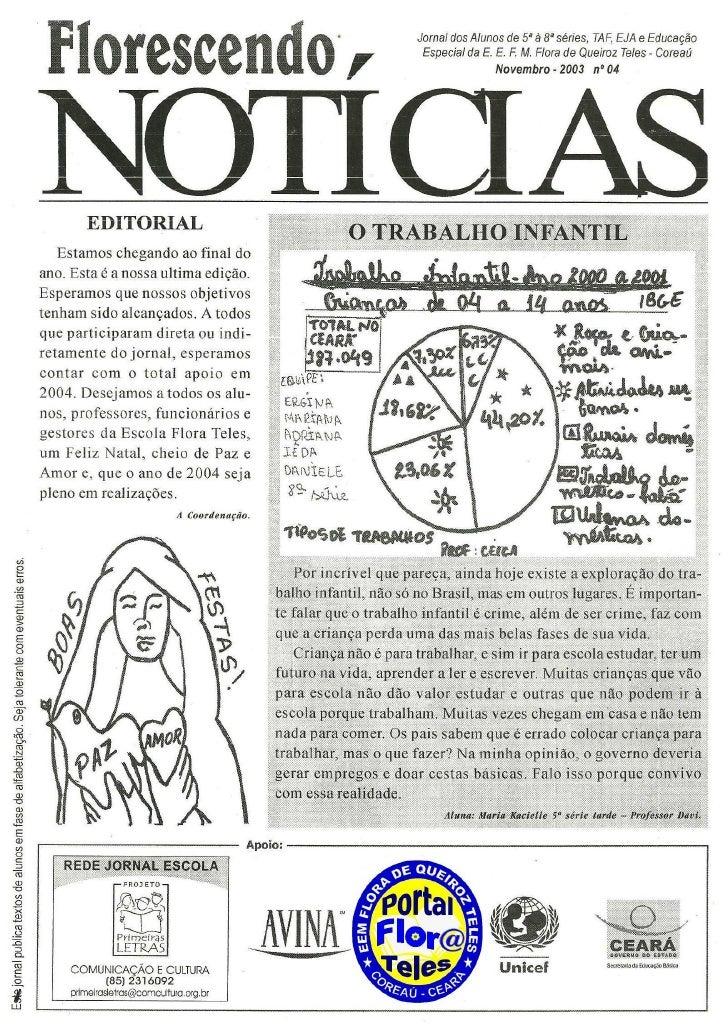 Jornal florescendo notícias 04