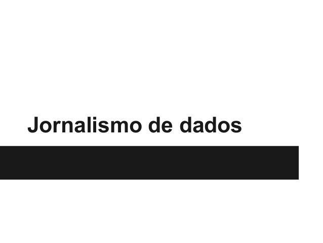 Jornalismo de dados
