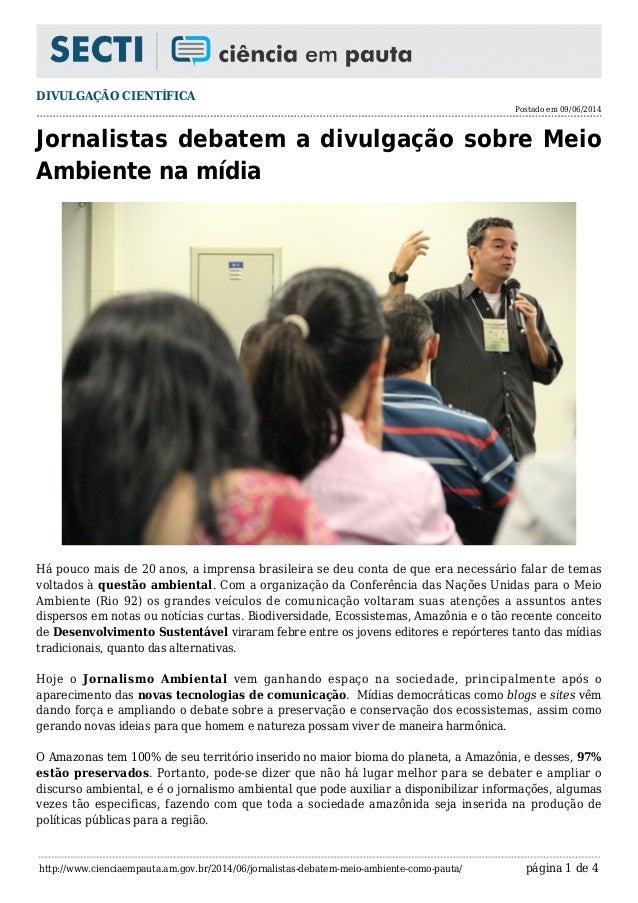 21a4c406e6 DIVULGAÇÃO CIENTÍFICA Postado em 09 06 2014 http   www.cienciaempauta ...
