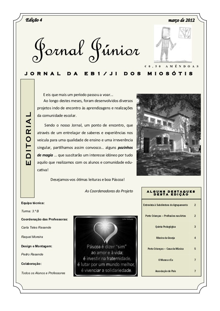 Edição 4                                                                                    março de 2012              Jor...