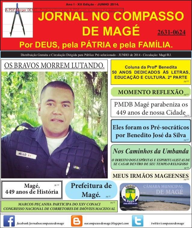 Prefeitura de Magé. Nos Caminhos da Umbanda O DIREITO DOS ESPÍRITAS E ESPIRITUALISTAS DE SE CASAR DENTRO DE SEU TEMPLO REL...