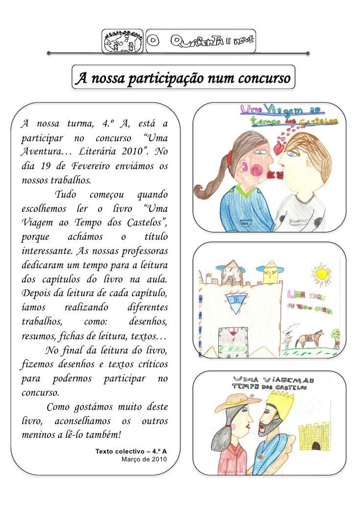 Jornal O Quarenta e Nove -  2º Período