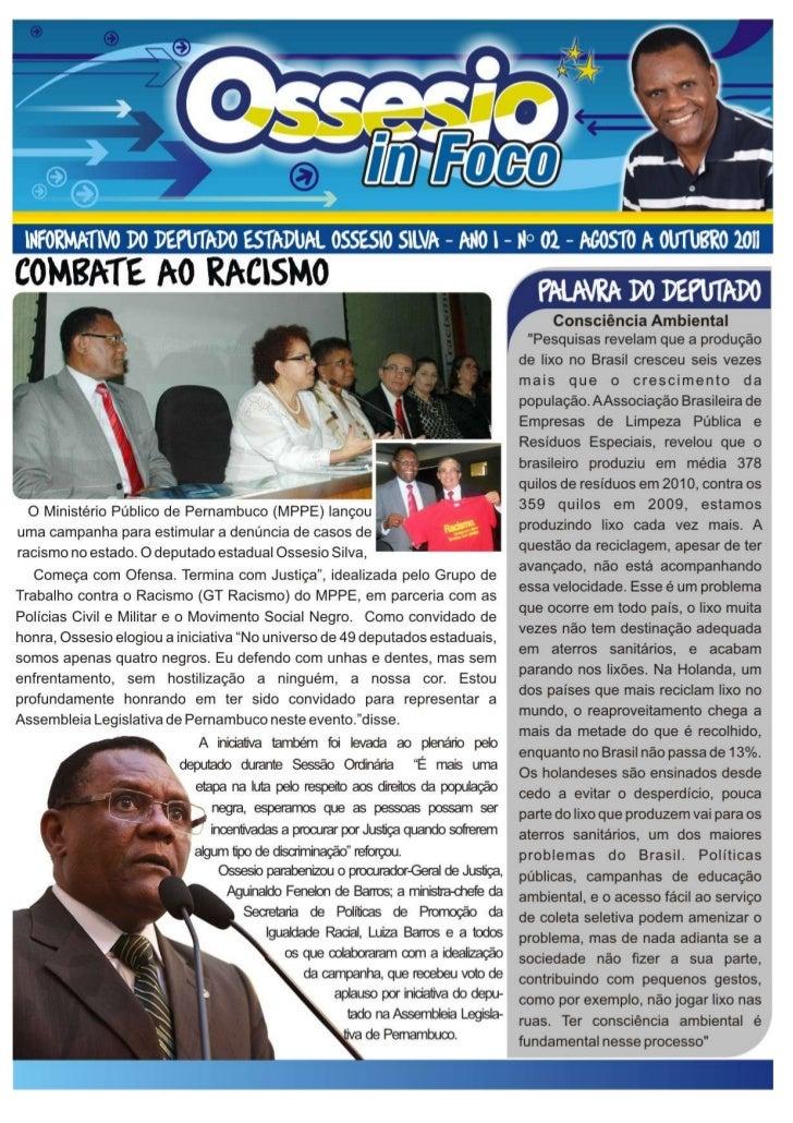 Jornal ossesio em foco 2º edição