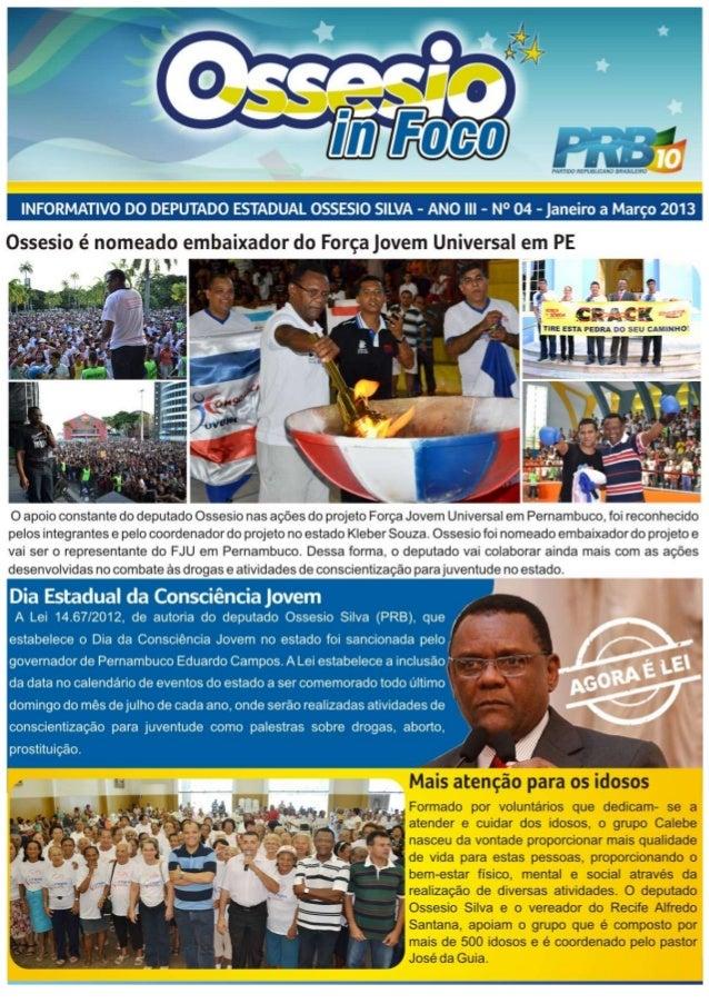 Jornal ossesio in foco 4° edição