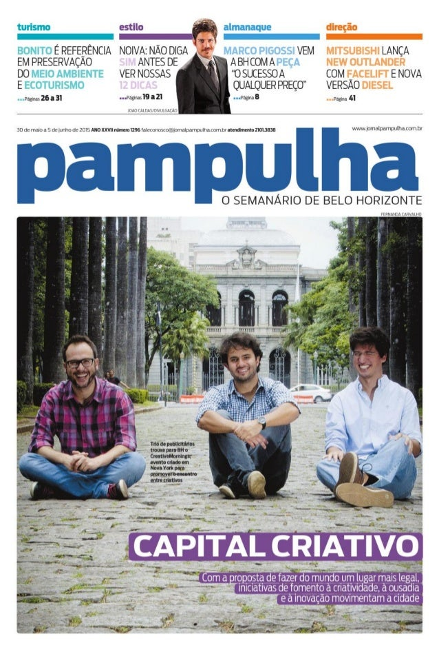 Jornal pampulha   ed.30.05.2015