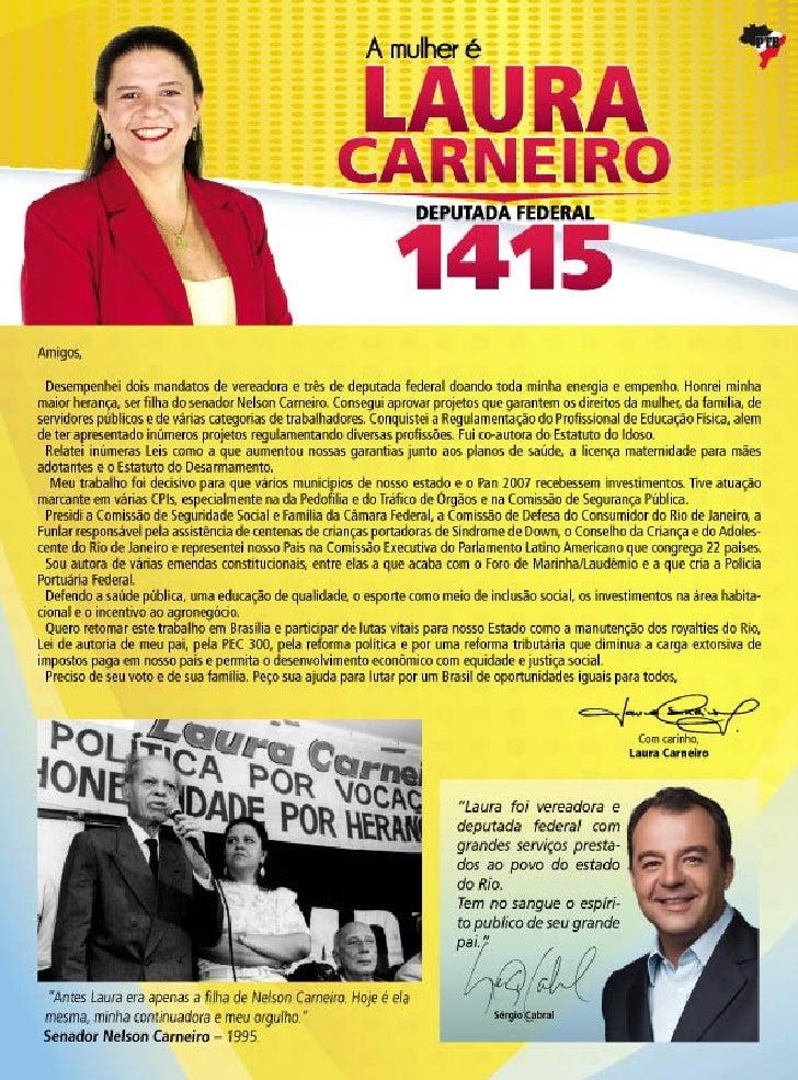 Jornal Laura Carneiro 1415 - Ano. 2010