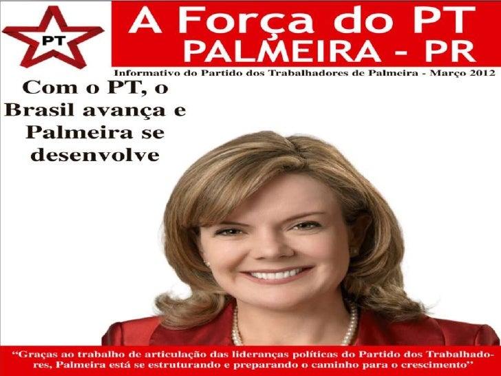 Jornal do Partido dos Trabalhadores de Palmeira