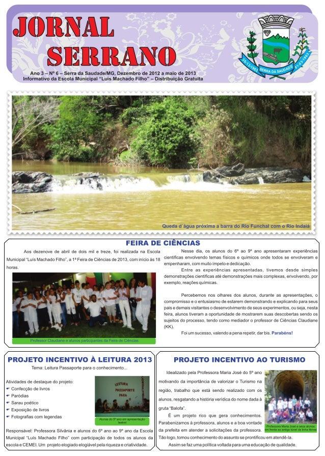 Jornal serrano 2013