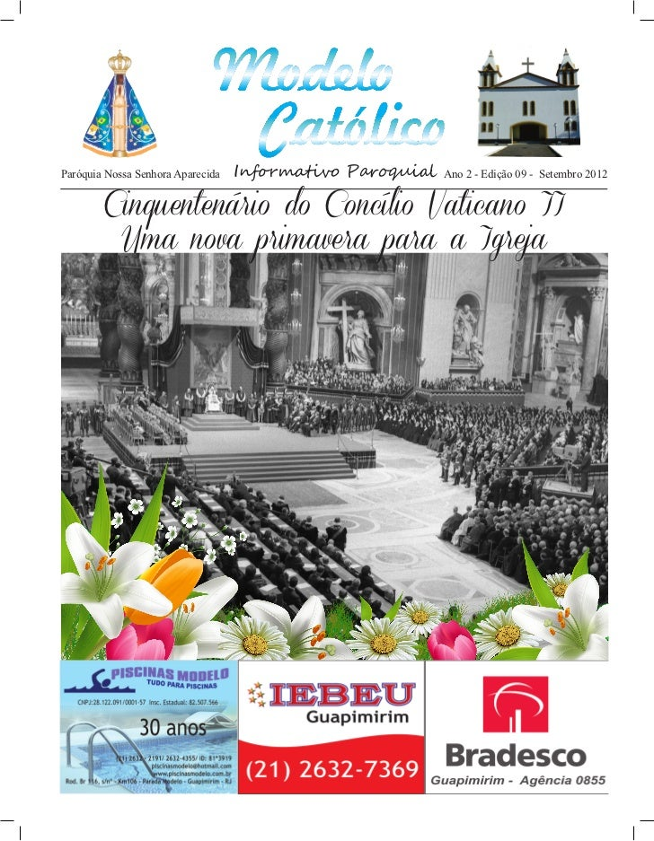 http://paroquiamodelo.blogspot.comParóquia Nossa Senhora Aparecida   Informativo Paroquial   Ano 2 - Edição 09 - Setembro ...