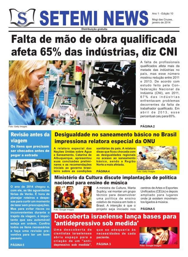 Jornal setemi news (janeiro 2014)