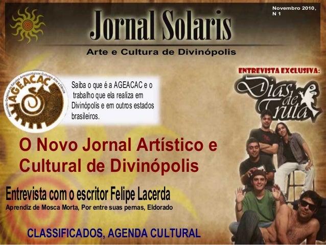 Arte e Cultura de Divin€polis Saiba o que € a AGEACAC e o trabalho que ela realiza em Divin€polis e em outros estados bras...