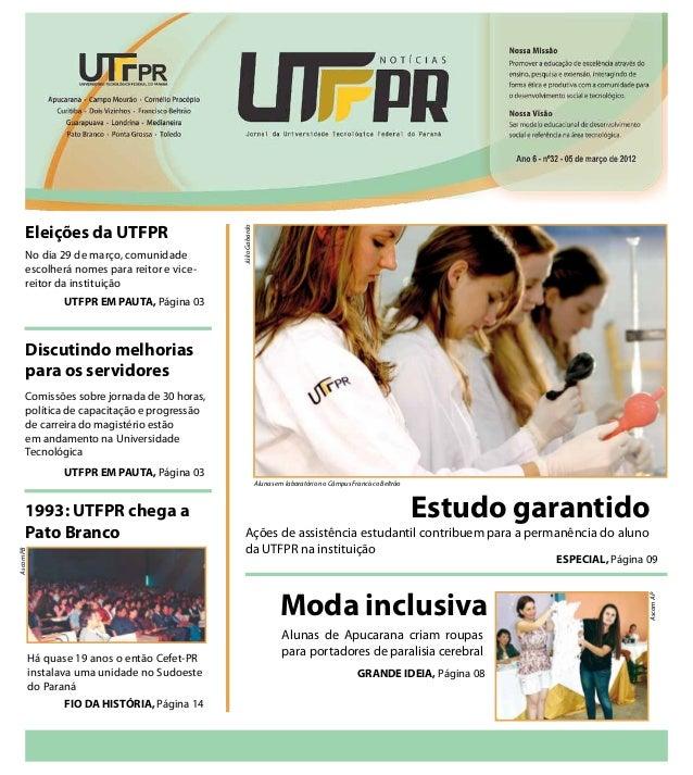 Eleições da UTFPR                                               Júlio Gabardo      No dia 29 de março, comunidade      esc...