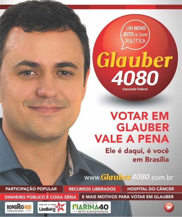 GLAUBER 4080 DEPUTADO FEDERAL