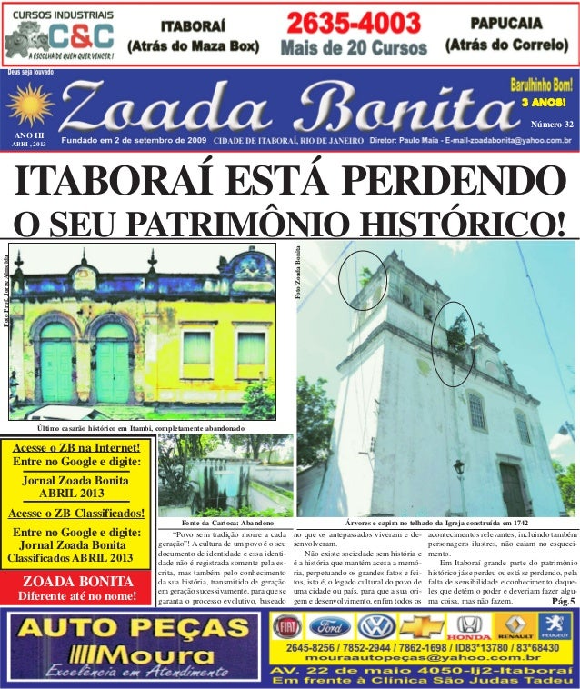 b3a66d1cc60 Jornal zoada bonita abril 2013