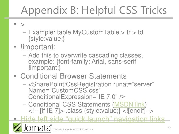 Dynamic style - manipulating CSS with JavaScript
